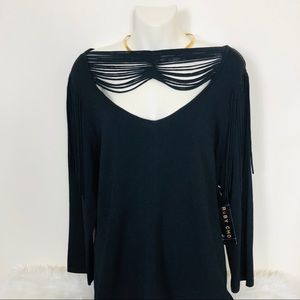NWT Ruby Cho Black Top Size XL